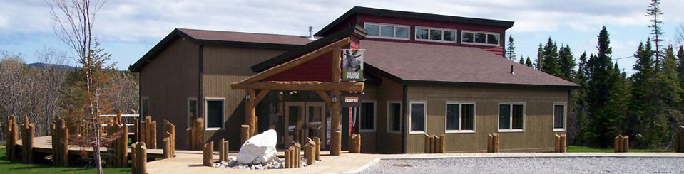 Green Moose Interpretation Centre Exhibits in Roddickton Newfoundland